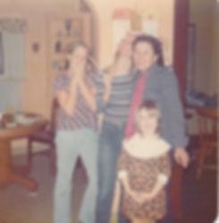 Mom w Becky Freddie Peggy-12-25-75 copy.