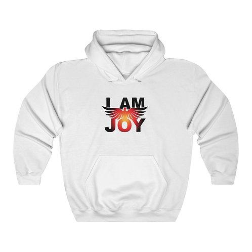 """""""I AM JOY"""" Unisex Hooded Sweatshirt"""
