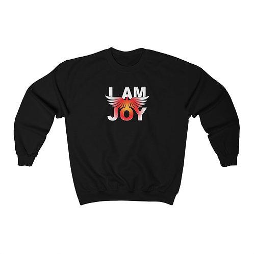 """""""I AM JOY"""" Unisex Crewneck Sweatshirt"""