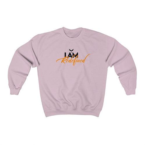 """""""I AM REDEFINED"""" Unisex Crewneck Sweatshirt"""