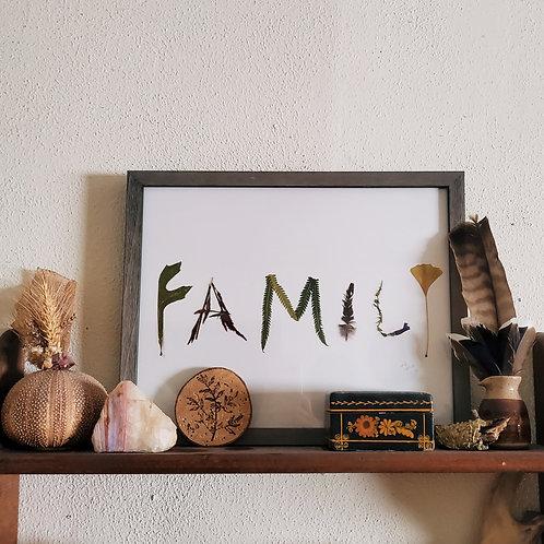 """FAMILY"" Print"
