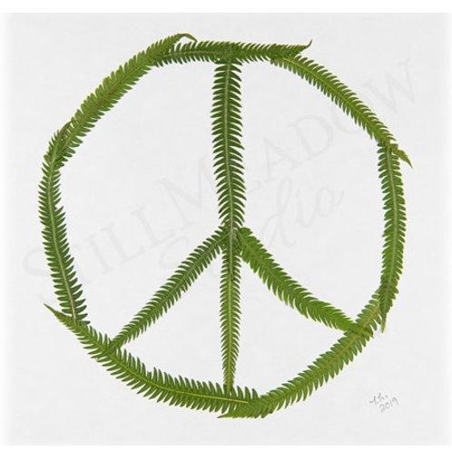 """Peace Sign"" Print"