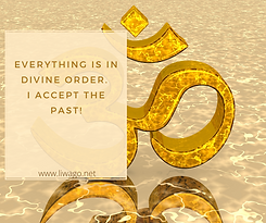 Everything is in divine order. I accept