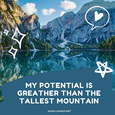 My potential is greather than the talles