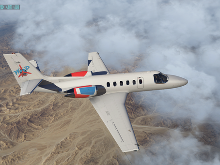 New Woop Air livery available for the Citation II and SAAB 340!