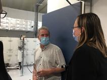BESANÇON -Visite de RD Biotech, une entreprise innovante, bénéficiaire du dispositif France Relance