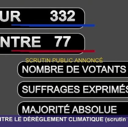 CLIMAT - Une loi historique vient d'être votée