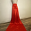 Thumbnail: Red Low Back Gown with Train