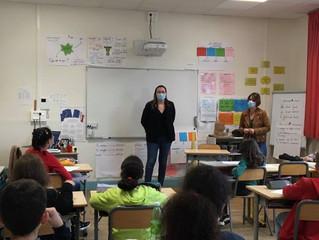 PARLEMENT DES ENFANTS - L'école Rosemont Jules Ferry de Besançon a participé