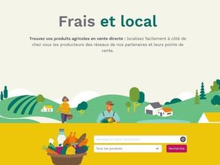 """SOLIDARITÉ : """"Frais et local"""", la plateforme pour manger sain et responsable"""