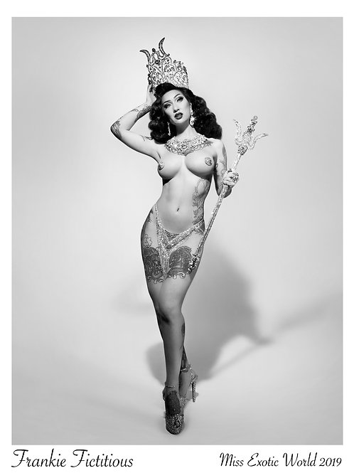 Miss Exotic World 2019 Print