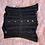 Thumbnail: Black Rhinestoned Mesh Underbust Corset