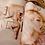 Thumbnail: Nude AB & Crystal Rhinestoned Cupless Bra