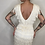Thumbnail: Vintage V Back Fringe Dress