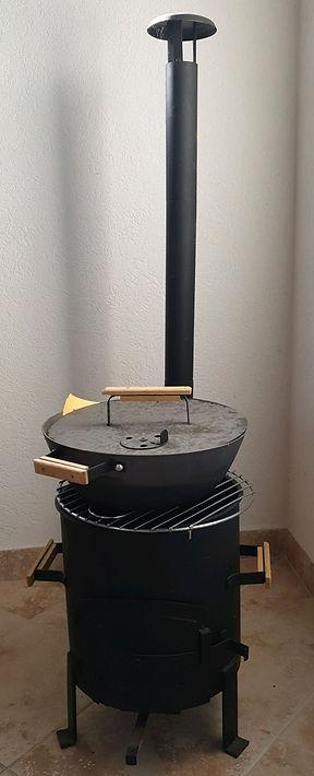 Grill à bois