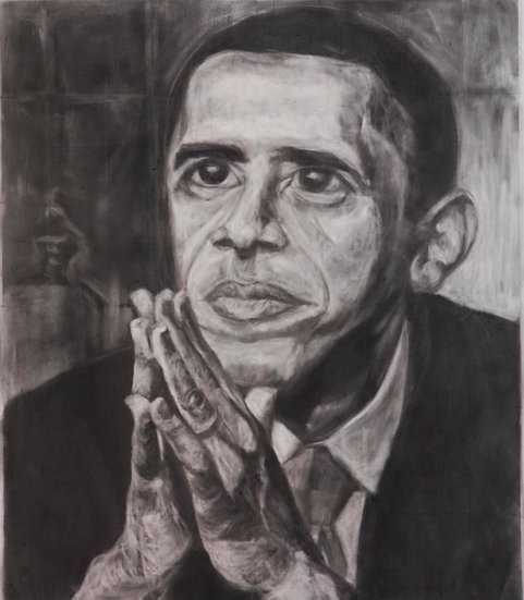 Barack honoring MLK