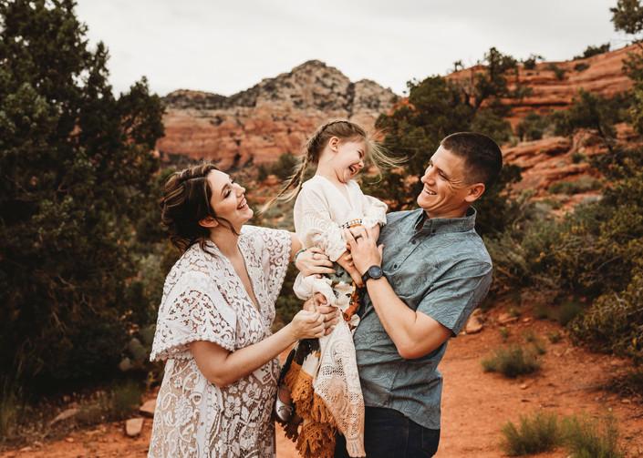 Sedona, AZ family photographer