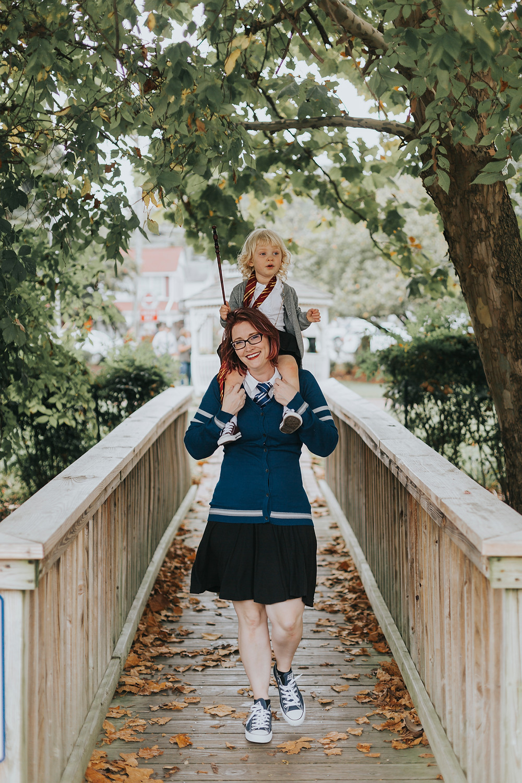 Harry Potter inspired family photos