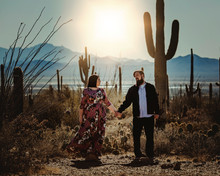 Saguaro National Park | Couples Session