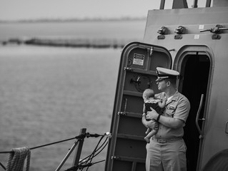 Navy Family Session San Diego