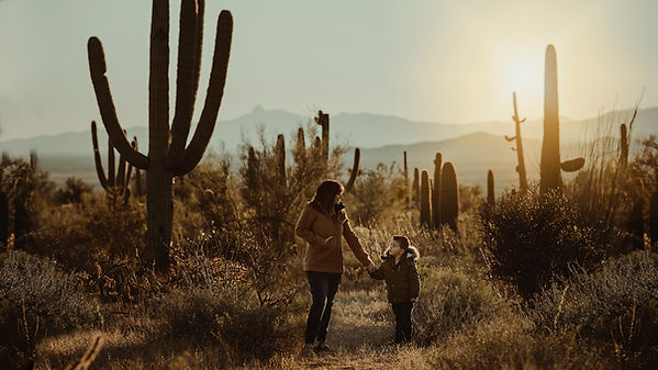 Regina Moneypenny Photography Saguaro National Park family photographer