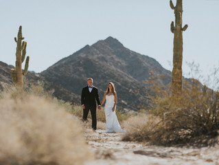 Arizona Desert Wedding Cecilia + Kyle