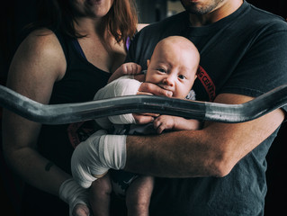 Yuma Arizona Photography | Yuma United MMA | Newborn