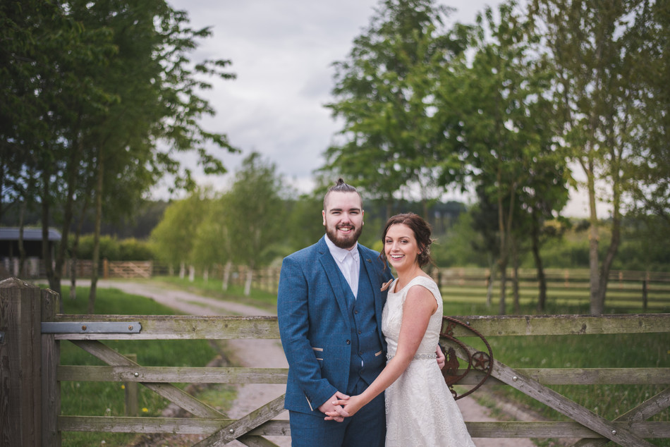LAURA & ANDREW'S RUSTIC TIPI WEDDING