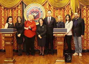 Meeting with the President Family of Kosovo