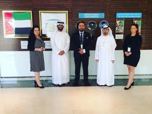 Swedish delegation to Mohammed bin Rashid Space Center