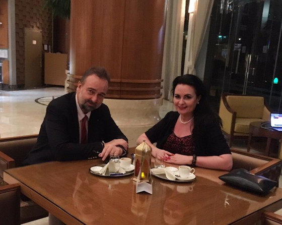 United Arab Emirates. From yesterday's high level meeting with Crown Prince Otto's son HH Karl von H