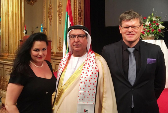The National Day of UAE. Today Roger Mörtvik and Lena Bäcker, the owners of Good Government Affairs,