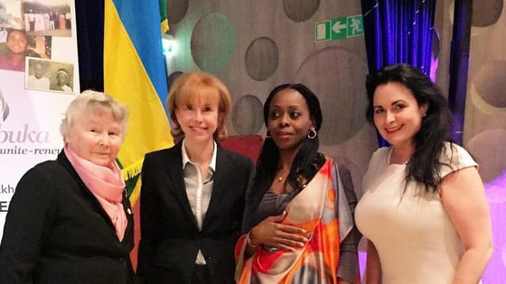 Rwanda. From my meeting with former Swedish Prime Minister Olof Palme's widow Lisbeth Palme and the