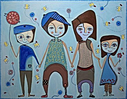 galería de arte, santiago, valparaíso, santiago de chile, Jacki Praxedes, arte elegante, arte naif