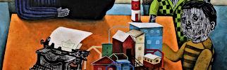 Bernardo Martinez, Galería de Arte Espacio Rojo, Valparaíso