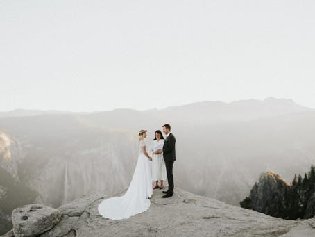 Jill + Aaron // Yosemite, CA