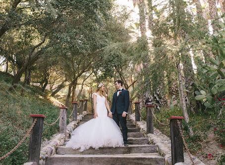 Lizzie + Brian // Rancho Los Lomas, CA