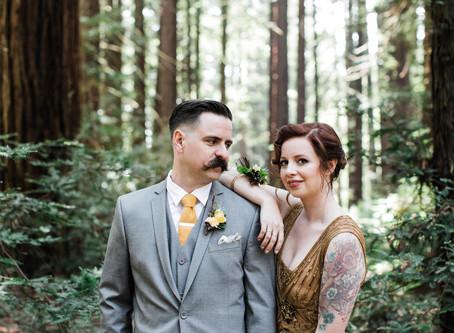 Stephanie + Jeff // Redwood Elopement