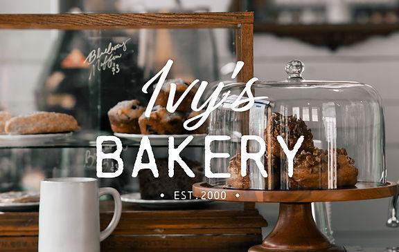 Ivy's Bakery Logo Design
