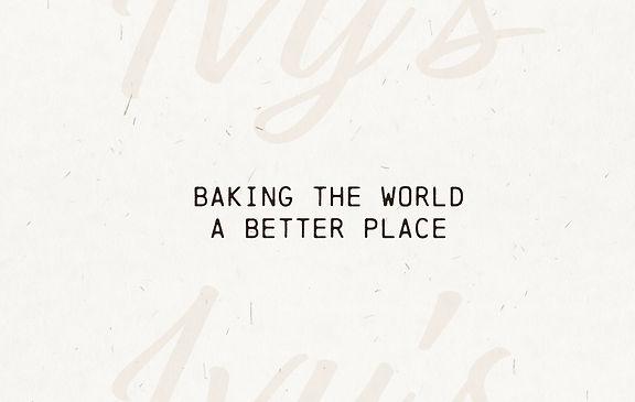 Ivy's Bakery Design