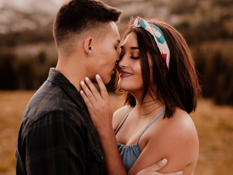 Ana + Val's Dreamy Mountain Engagement