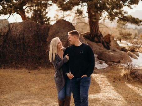Romantic Proposal in Estes Park, Colorado: Harrison & Britainy