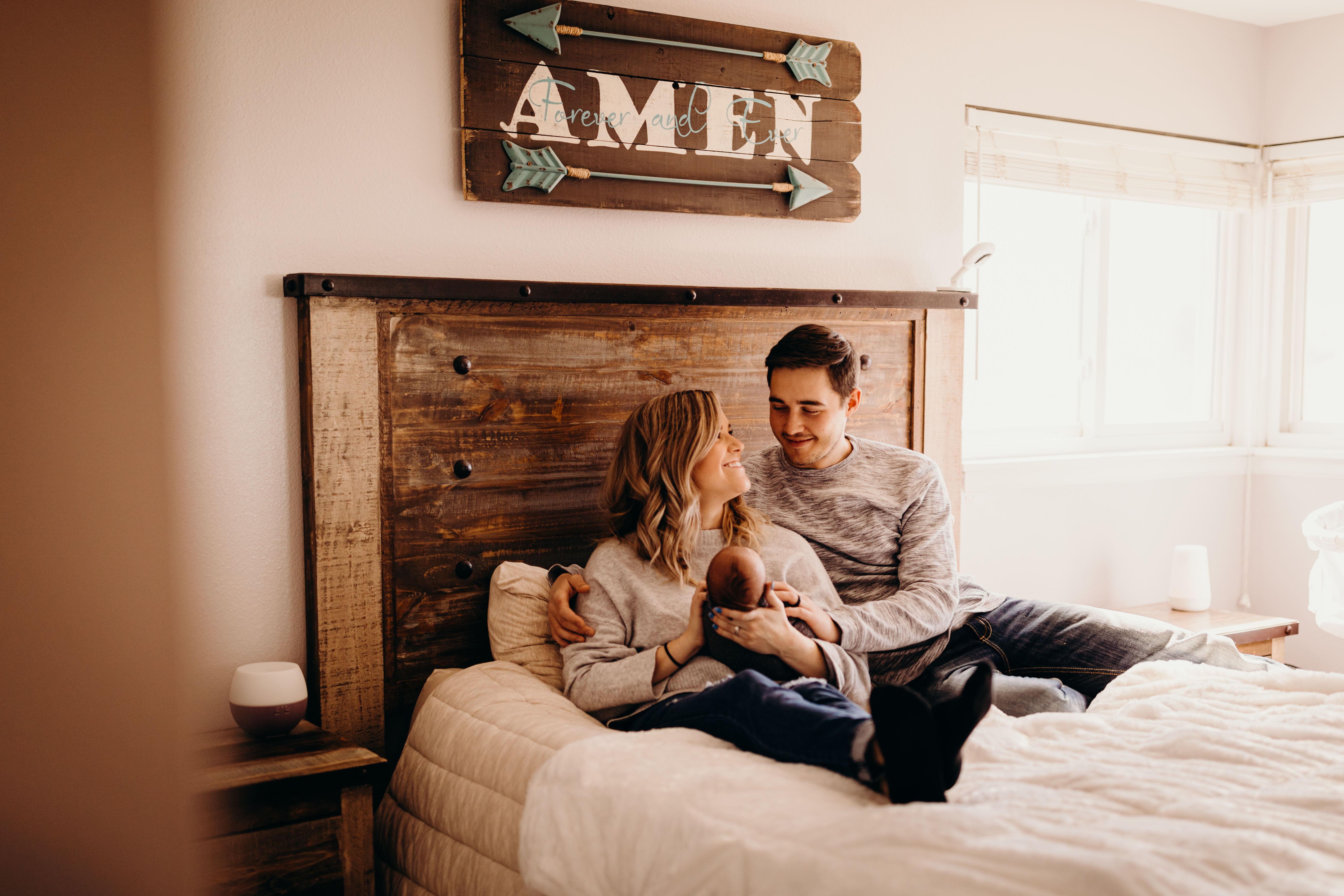 In Home Newborn Photos