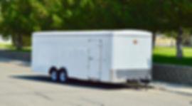 "2020 CARRY-ON 8.5X24' ENCLOSED 78"" tall rear door $7499 nevada"