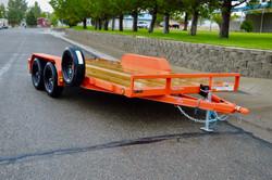 c4 PJ Orange Car Hauler Nevada