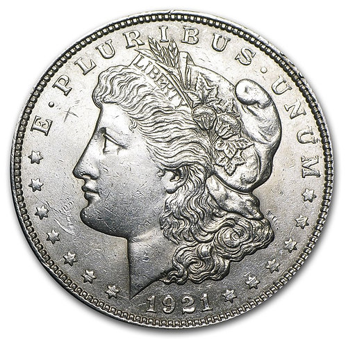 1921 P,D or S Mint Morgan Silver Dollar