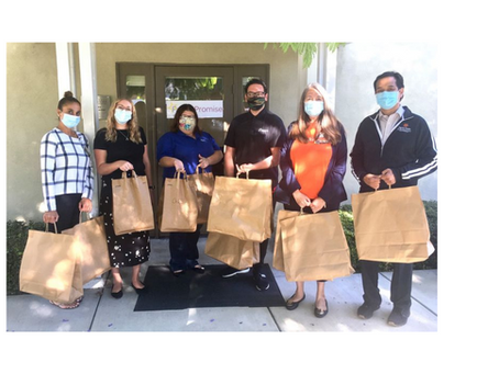DIGNITY HEALTH PROVIDES MEALS TO SHELTER AND RAPID REHOUSING FAMILIES