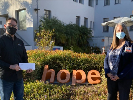 Dignity Health Glendale Memorial Hospital Awards FPV with Grant
