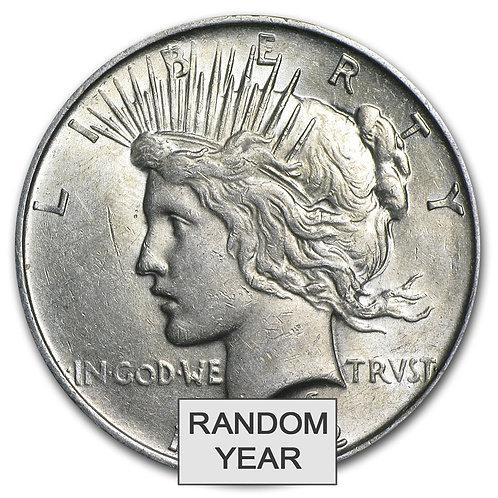 Peace Silver Dollar 1922-1935 AU