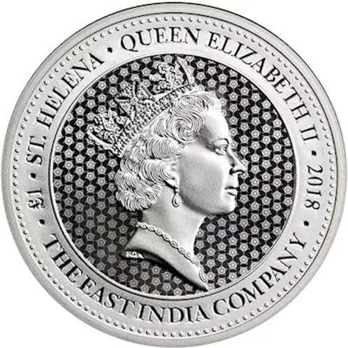 1.25 Oz. Silver Rose Crown Guinea